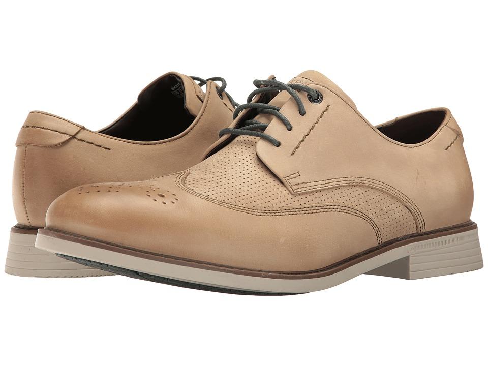 Rockport - Classic Break Wingtip (Beech Sand) Men's Shoes