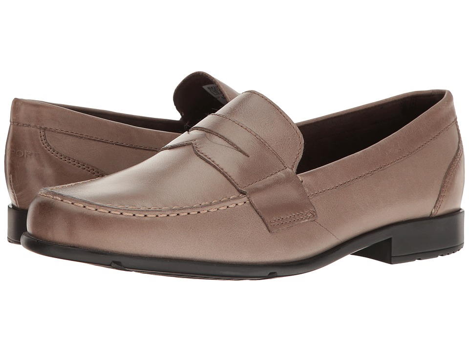 Rockport Classic Loafer Lite Penny (Mid Brown Leather) Men