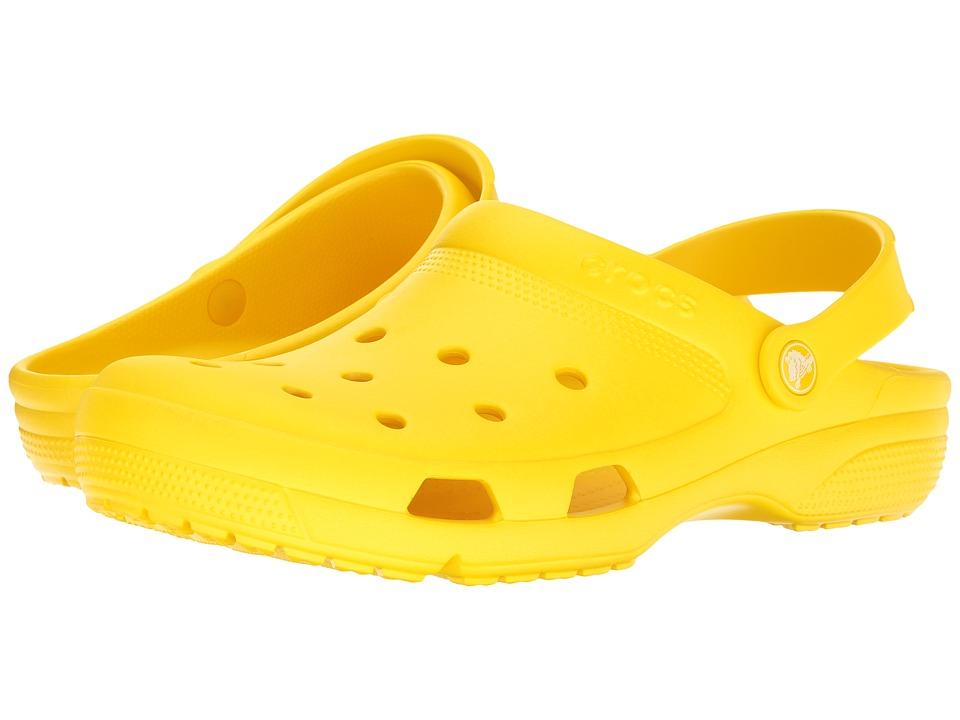 Crocs Coast Clog (Lemon) Shoes