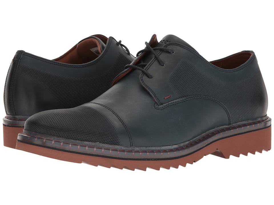 Rockport Jaxson Cap Toe (New Dress Blues Leather) Men
