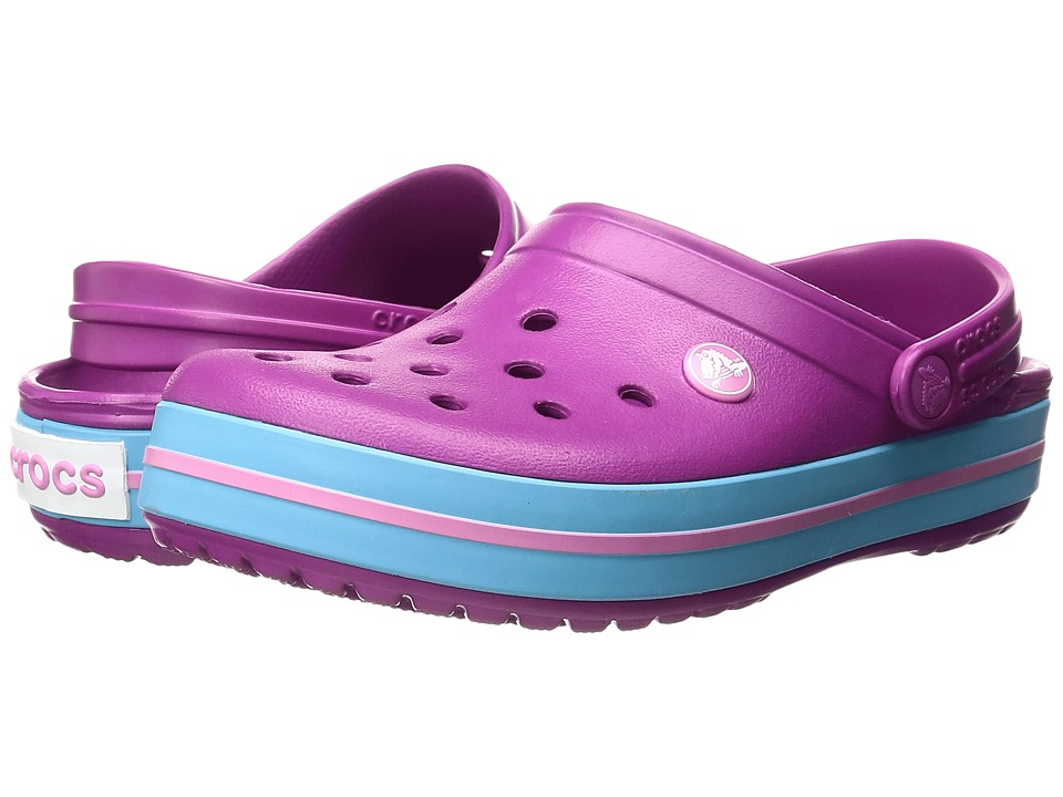 Crocs Crocband Clog (Vibrant Violet) Clog Shoes