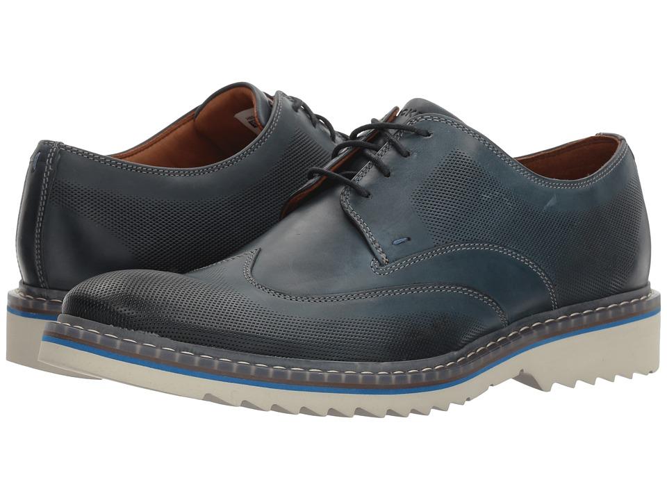 Rockport Jaxson Wingtip (New Dress Blues Leather) Men