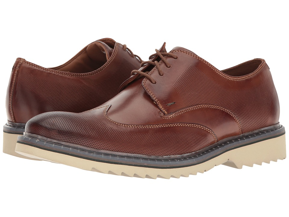 Rockport Jaxson Wingtip (Brown Leather) Men