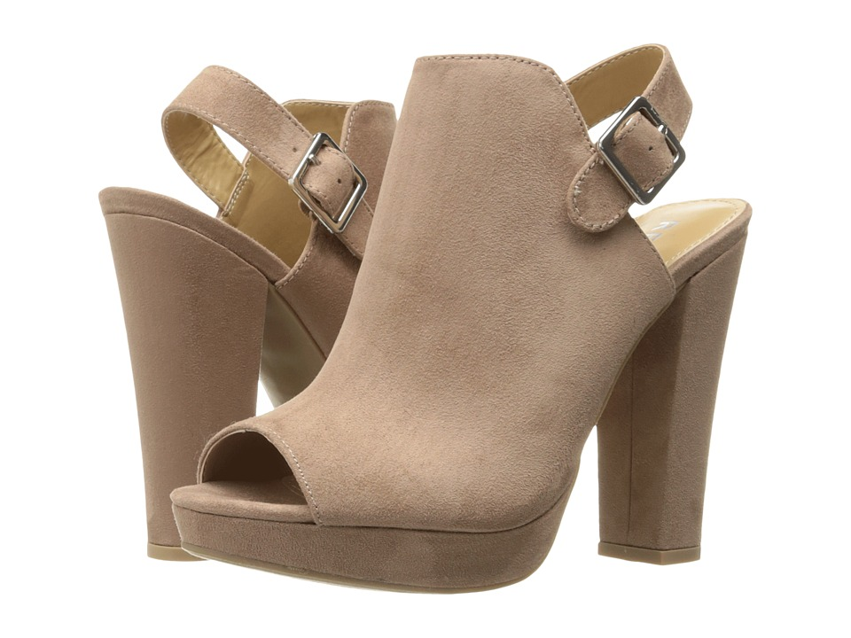 Report - Libbie (Taupe) High Heels