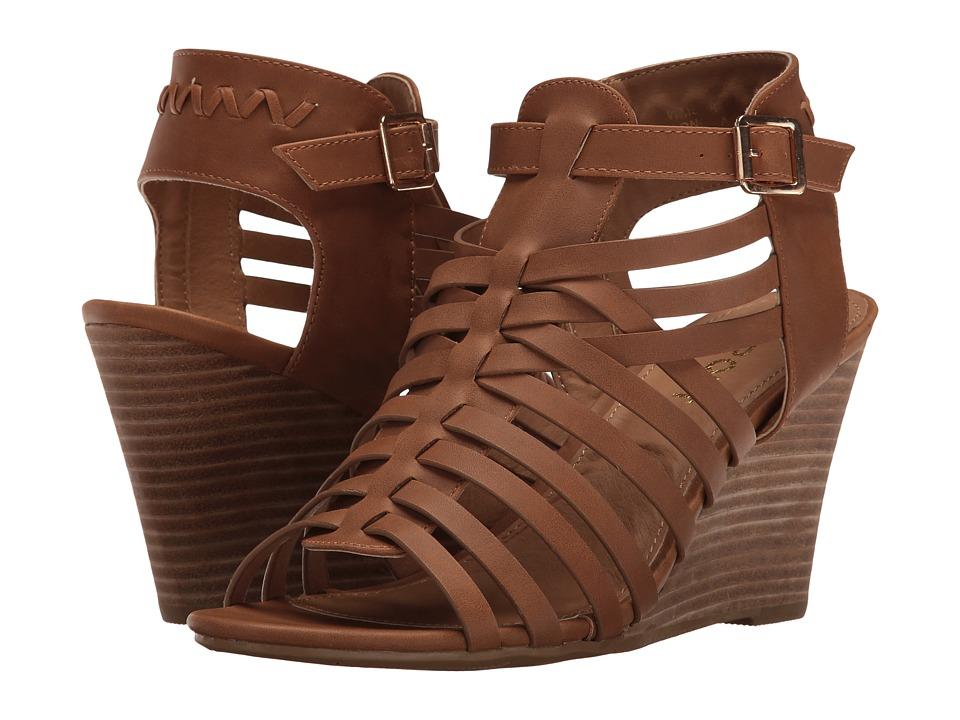 Report - Sonora (Dark Tan) Women's Wedge Shoes