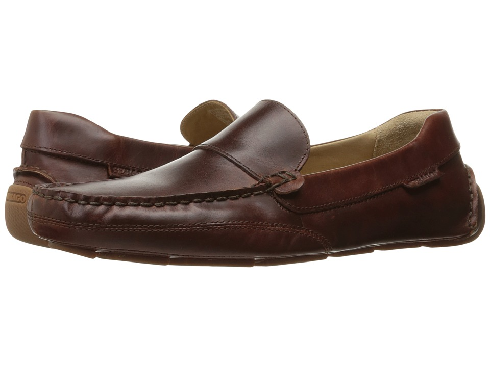 Sebago Kedge Venetian (Brown Oiled Waxy Leather) Men