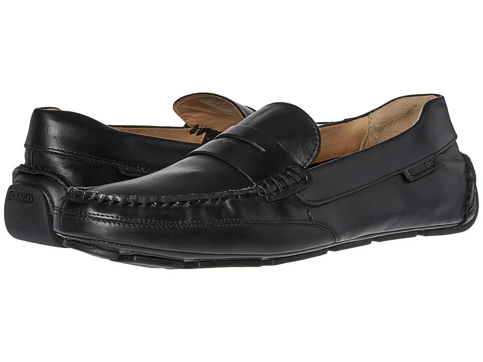 Sebago Kedge Penny (Black Leather) Men