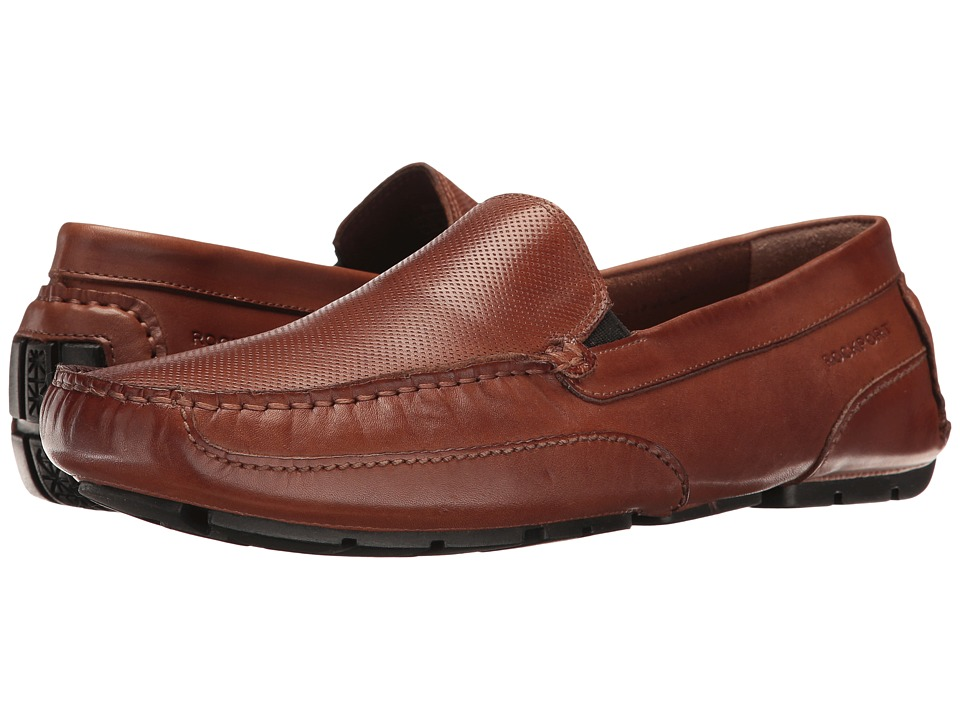 Rockport Oaklawn Park Perf Venetian (Tan Leather) Men