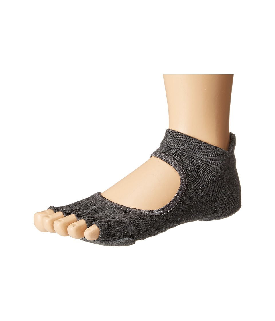 toesox - Prima Bellarina Half Toe w/ Grip (Sultry) Women's Crew Cut Socks Shoes
