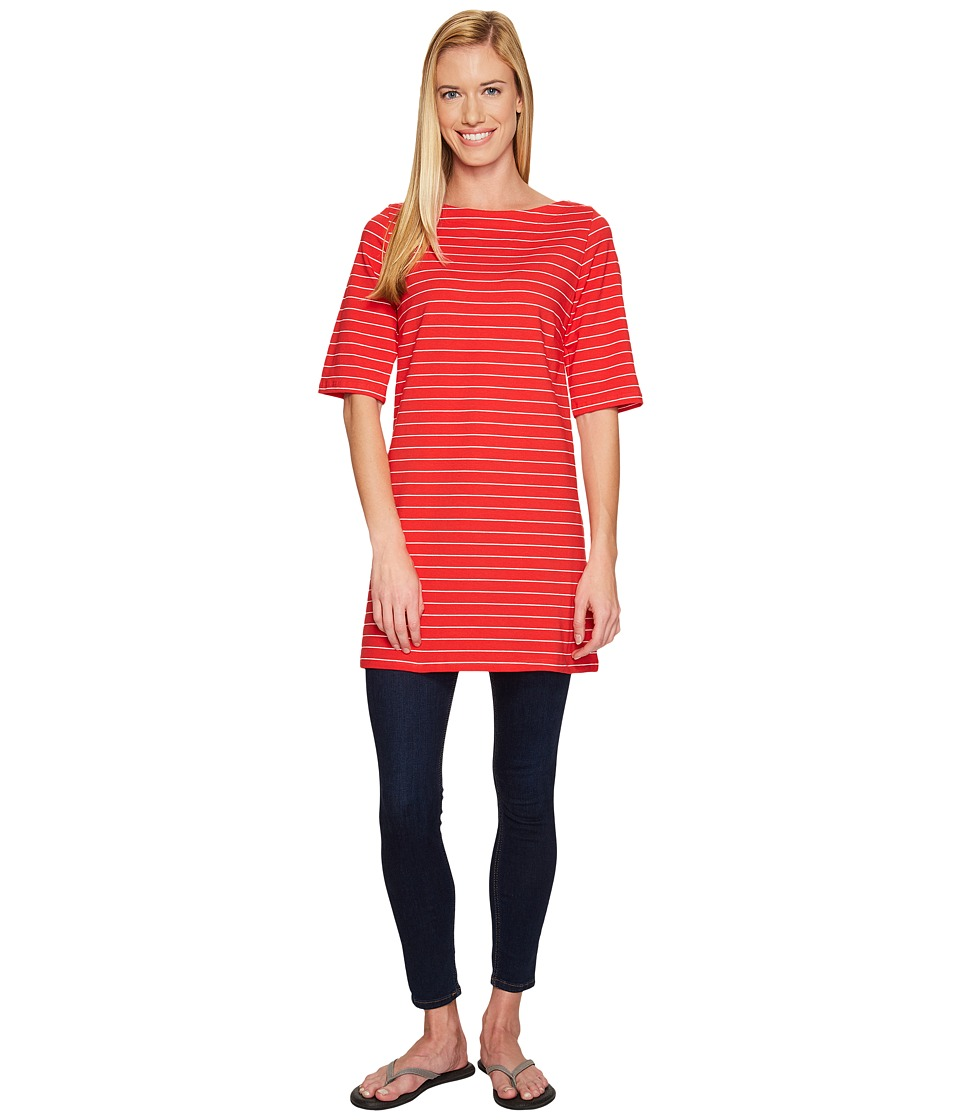 FIG Clothing - Aja Top (Cardinal) Women's Dress
