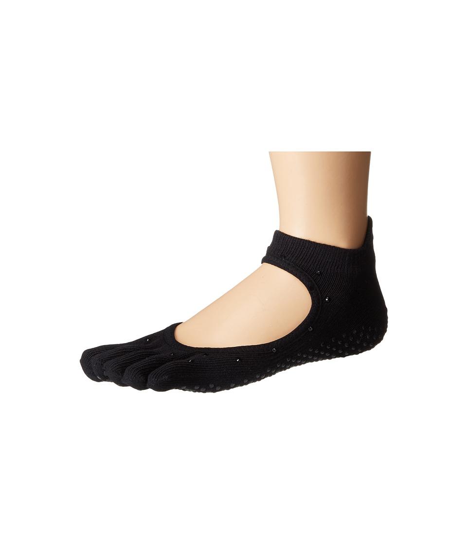 toesox - Bellarina Full Toe w/ Grip (Nightlife) Women's Crew Cut Socks Shoes