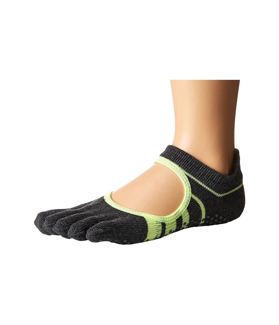 toesox - Bellarina Full Toe w/ Grip (Varsity) Women's Crew Cut Socks Shoes