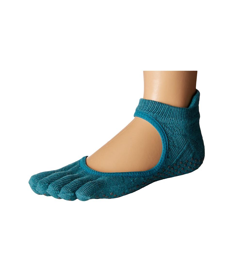 toesox - Bellarina Full Toe w/ Grip (Mermaid) Women's Crew Cut Socks Shoes