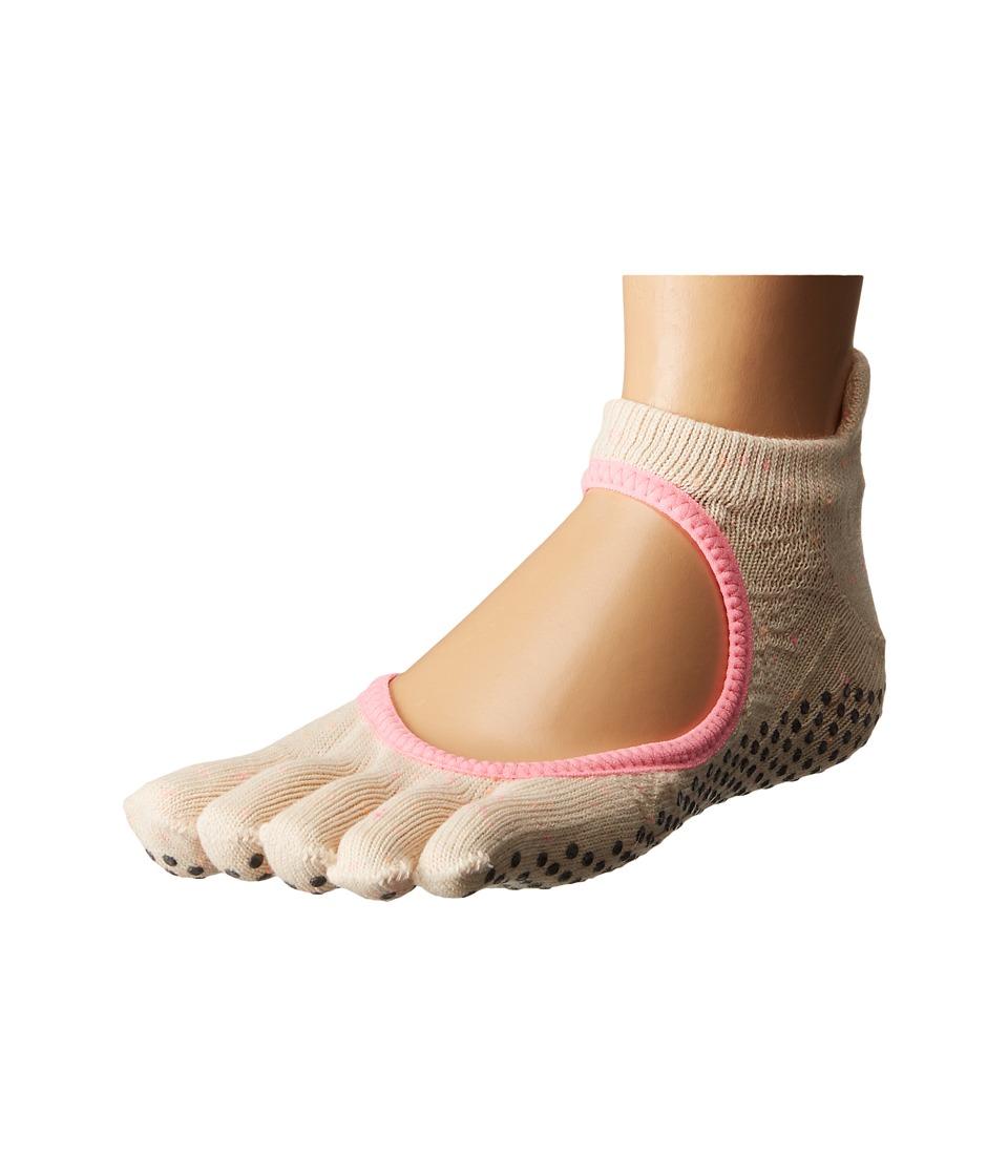 toesox - Bellarina Full Toe w/ Grip (Confetti) Women's Crew Cut Socks Shoes