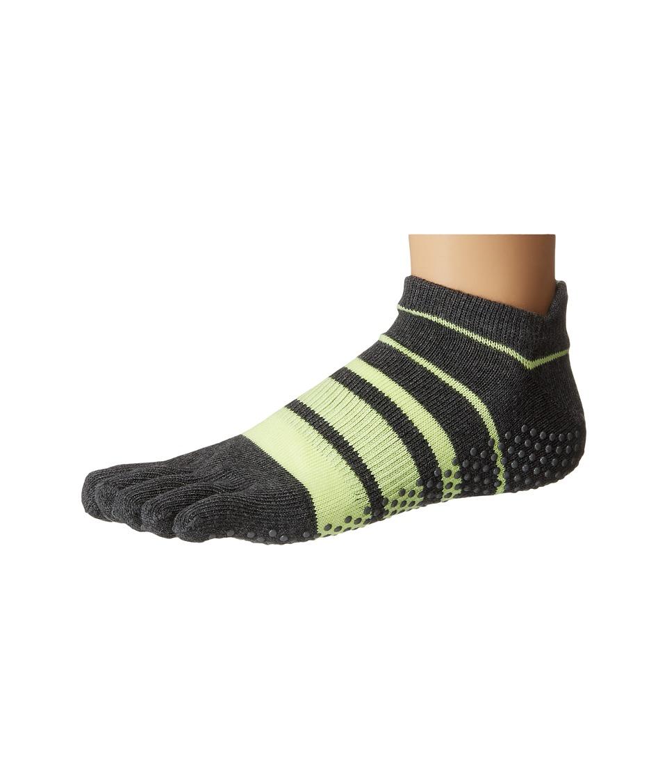 toesox - Low Rise Full Toe w/ Grip (Varsity) Women's Quarter Length Socks Shoes