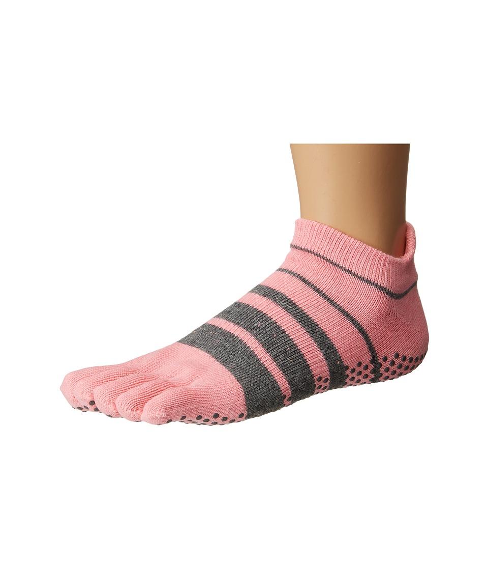 toesox - Low Rise Full Toe w/ Grip (Derby) Women's Quarter Length Socks Shoes