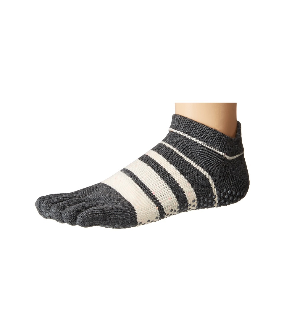 toesox - Low Rise Full Toe w/ Grip (Groove) Women's Quarter Length Socks Shoes