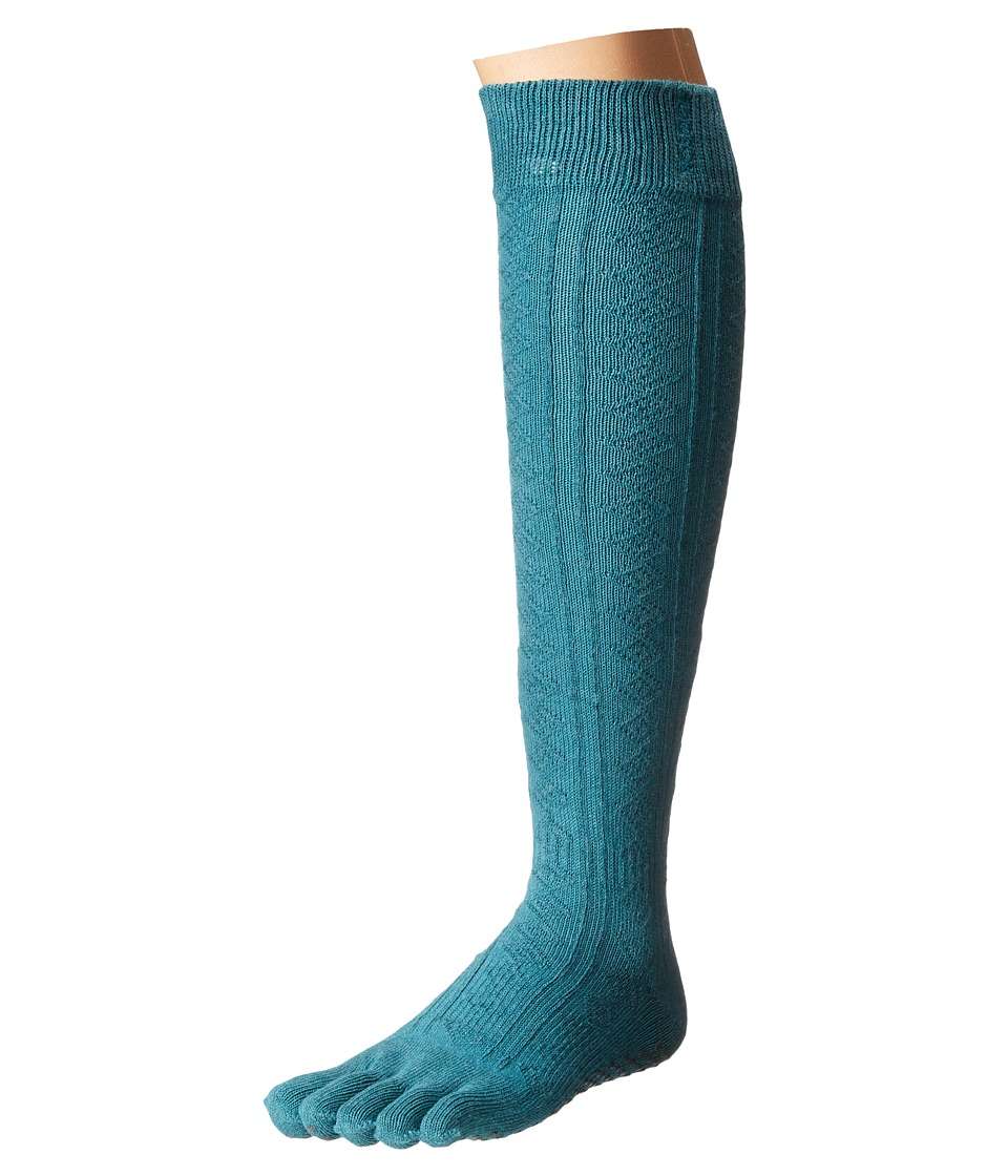 toesox - Grip Full Toe Scrunch (Mermaid) Women's Low Cut Socks Shoes