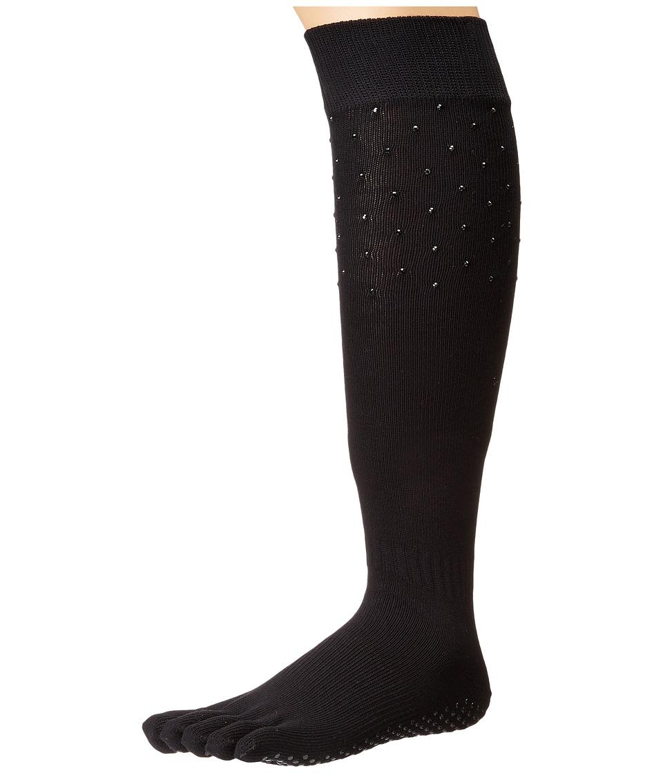 toesox - Grip Full Toe Scrunch (Nightlife) Women's Low Cut Socks Shoes