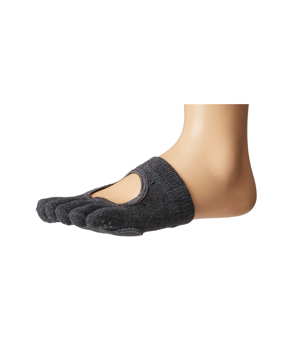 toesox - Dance Full Toe Releve (Sultry) Women's Crew Cut Socks Shoes