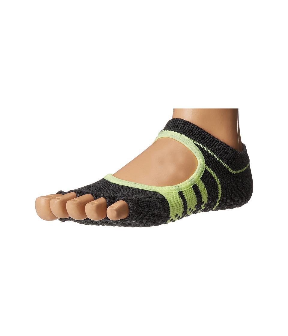toesox - Bella Half Toe w/ Grip 1-Pair Pack (Varsity) Women's Low Cut Socks Shoes