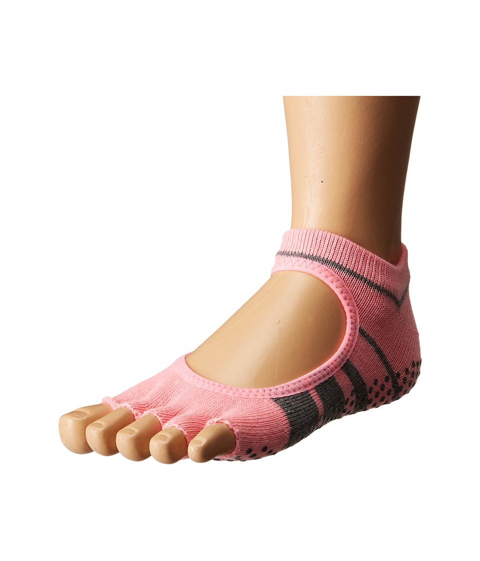 toesox - Bella Half Toe w/ Grip 1-Pair Pack (Derby) Women's Low Cut Socks Shoes