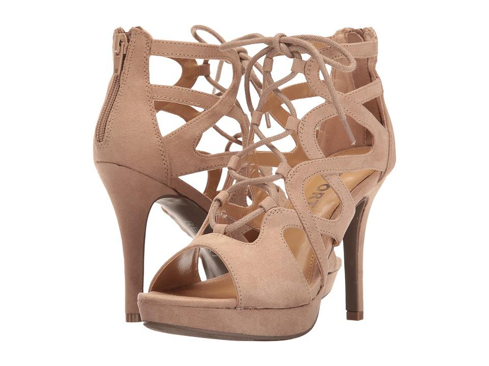 Report - Laxy (Natural) High Heels