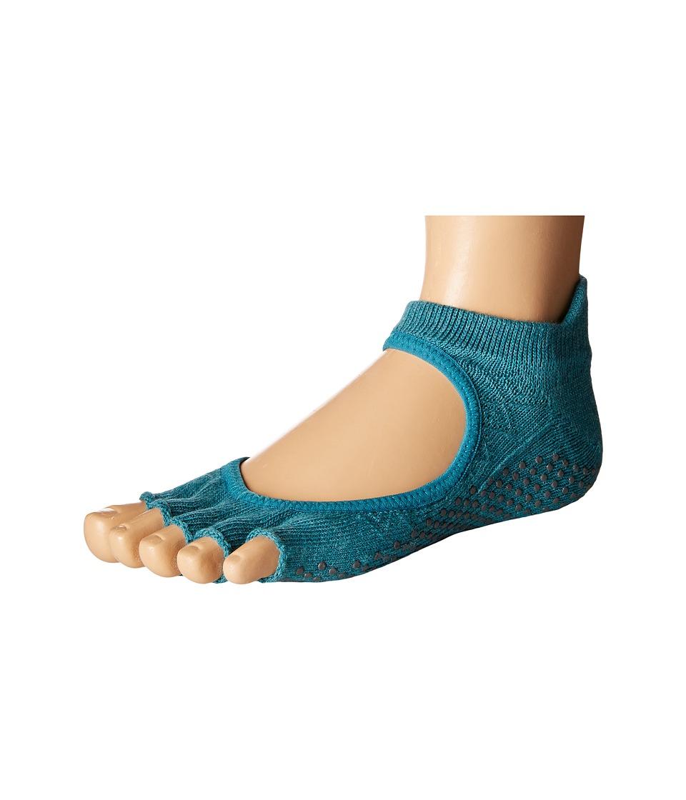 toesox - Bellarina Half Toe 1-Pack (Mermaid) Women's Crew Cut Socks Shoes