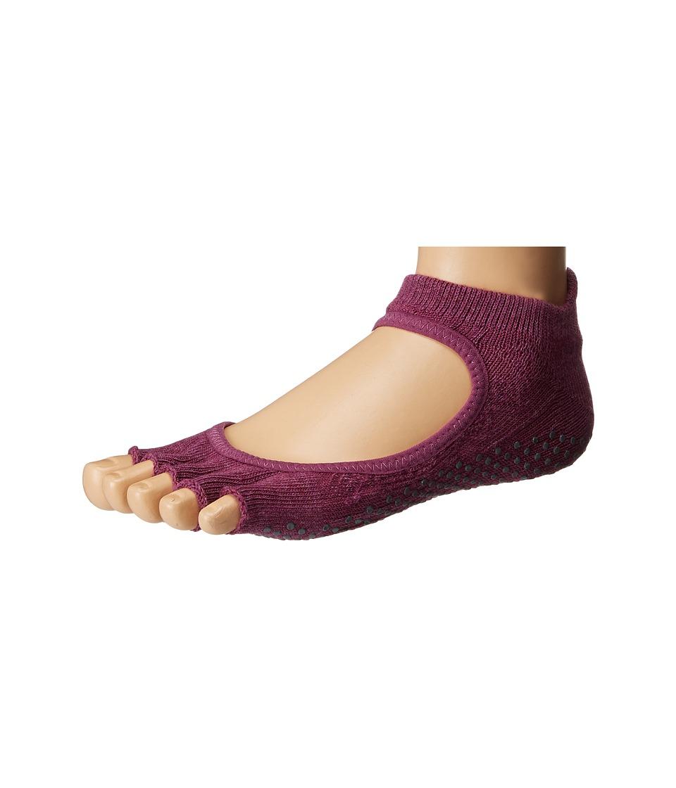toesox - Bellarina Half Toe 1-Pack (Violet) Women's Crew Cut Socks Shoes