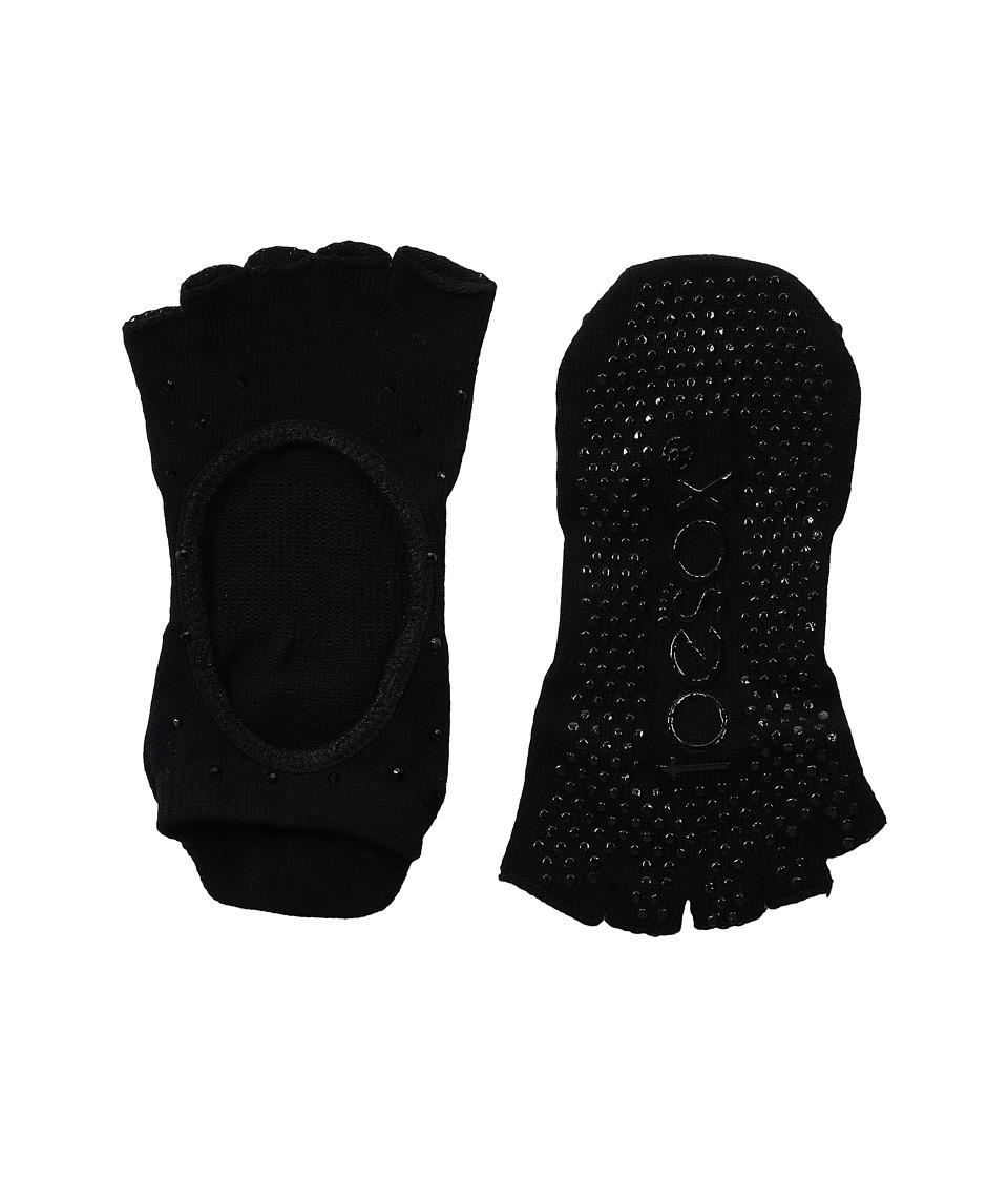 toesox - Bellarina Half Toe 1-Pack (Nightlife) Women's Crew Cut Socks Shoes