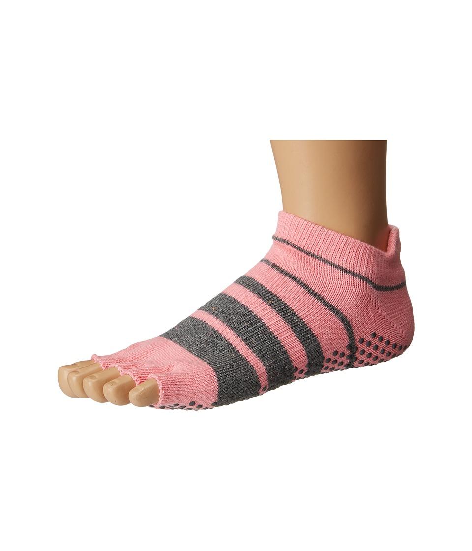 toesox - Low Rise Half Toe 1-Pack (Derby) Women's Crew Cut Socks Shoes