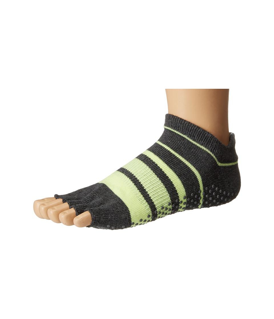 toesox - Low Rise Half Toe 1-Pack (Varsity) Women's Crew Cut Socks Shoes