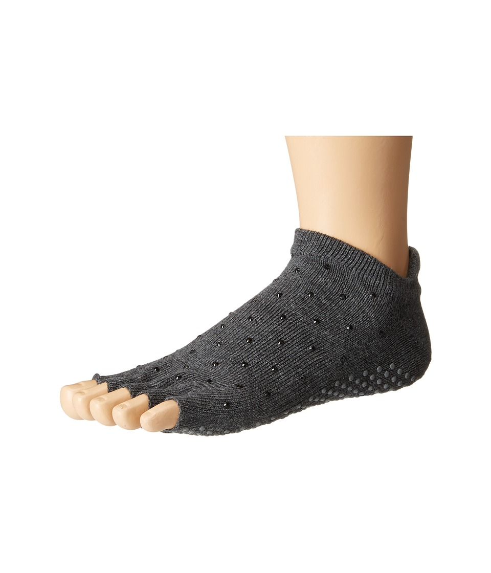 toesox - Low Rise Half Toe 1-Pack (Sultry) Women's Crew Cut Socks Shoes