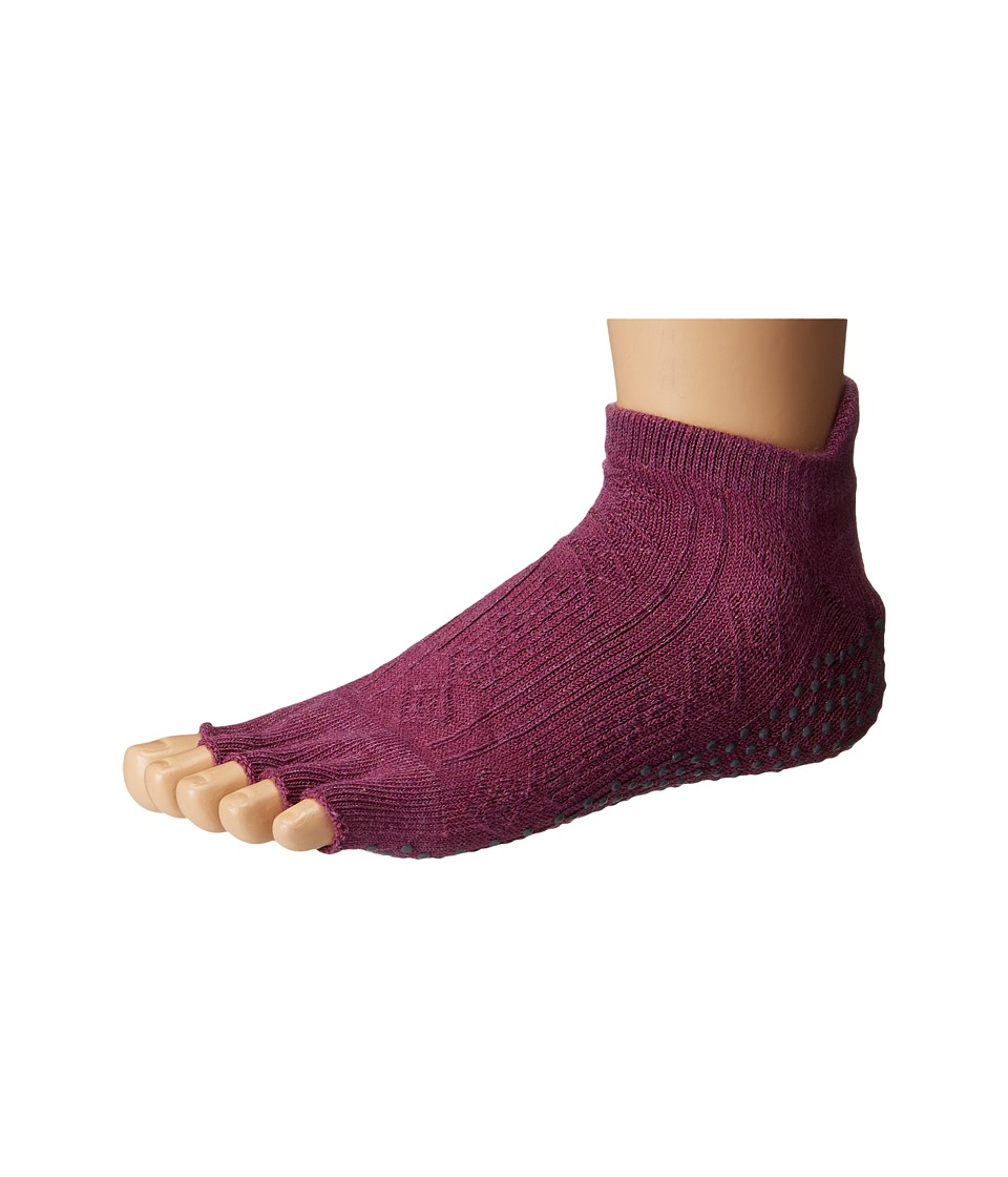 toesox - Low Rise Half Toe 1-Pack (Violet) Women's Crew Cut Socks Shoes