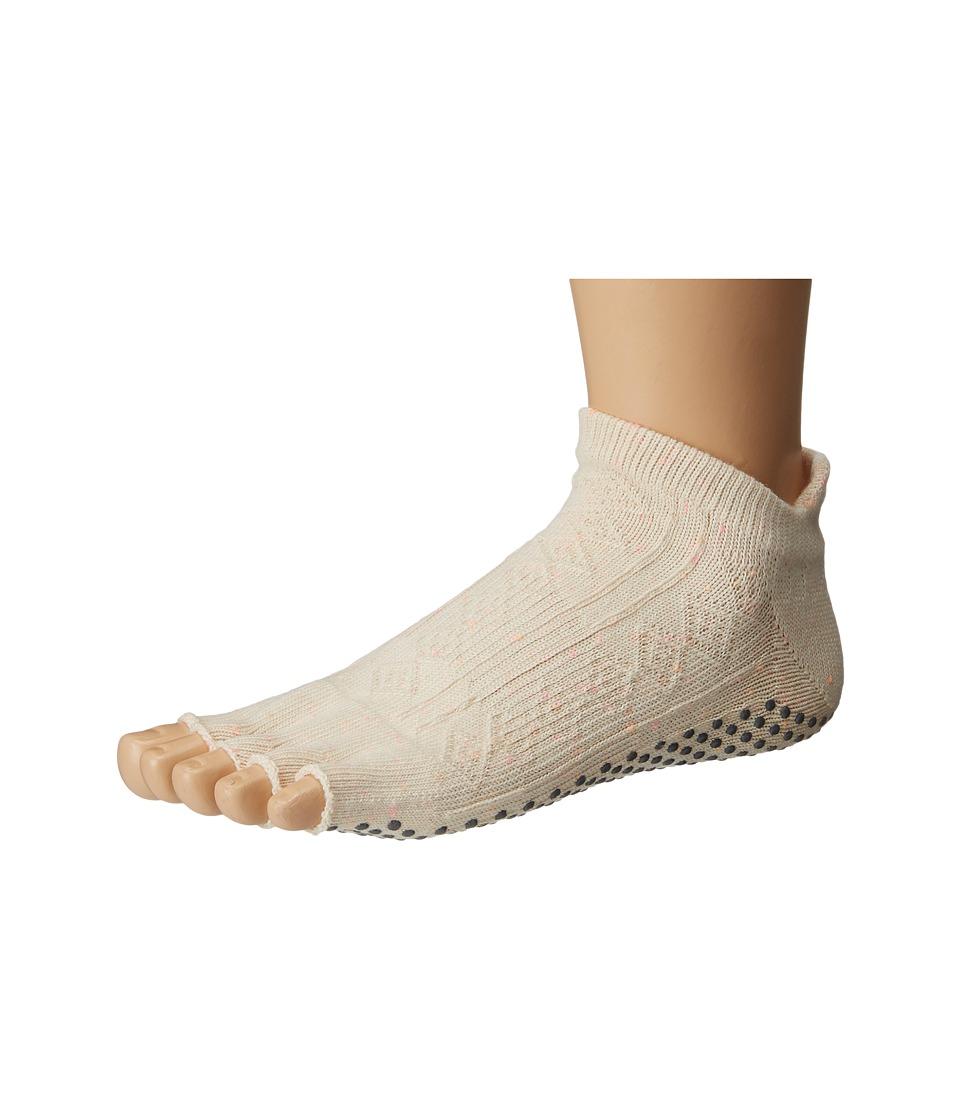 toesox - Low Rise Half Toe 1-Pack (Confetti) Women's Crew Cut Socks Shoes