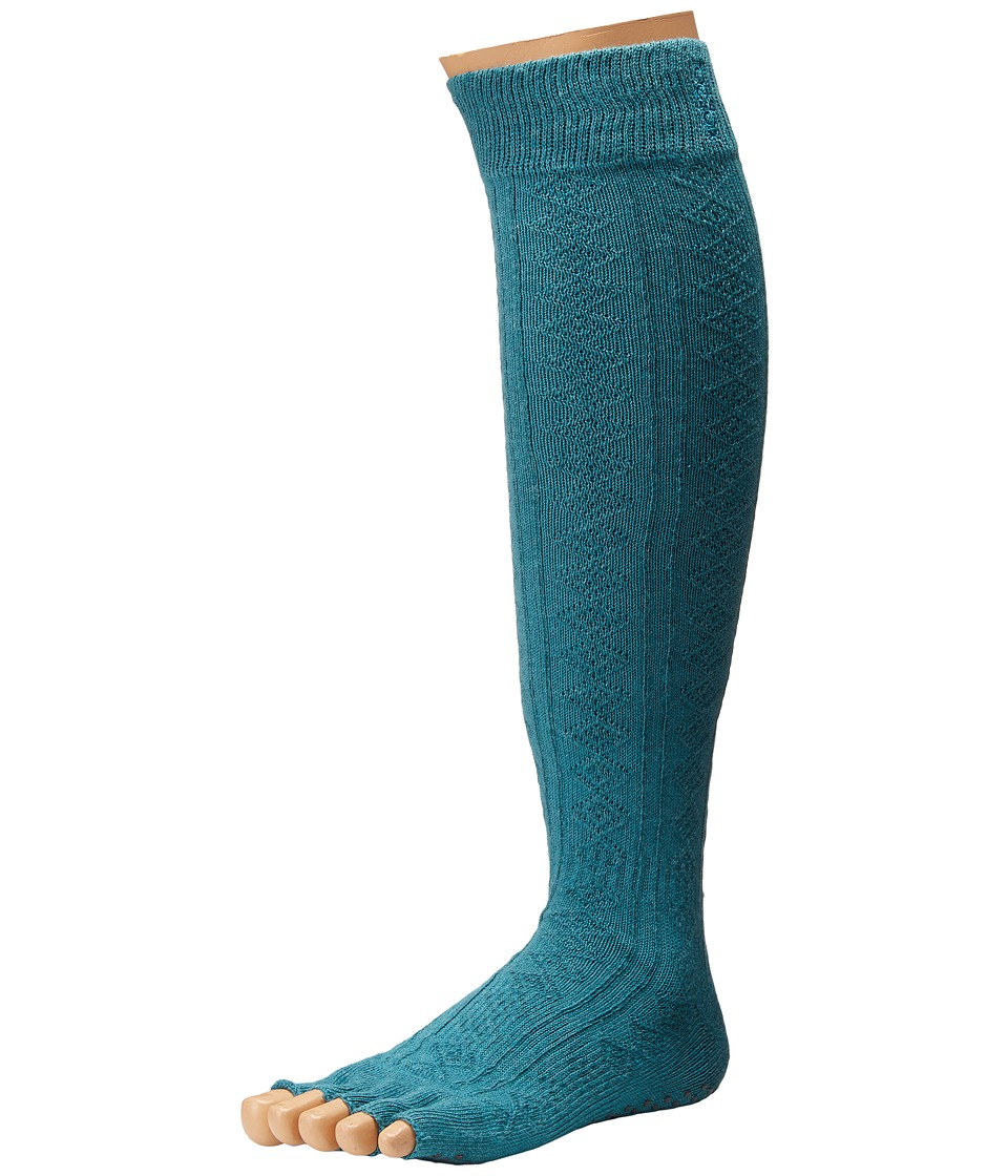 toesox - Grip Half Toe Scrunch (Mermaid) Women's Knee High Socks Shoes