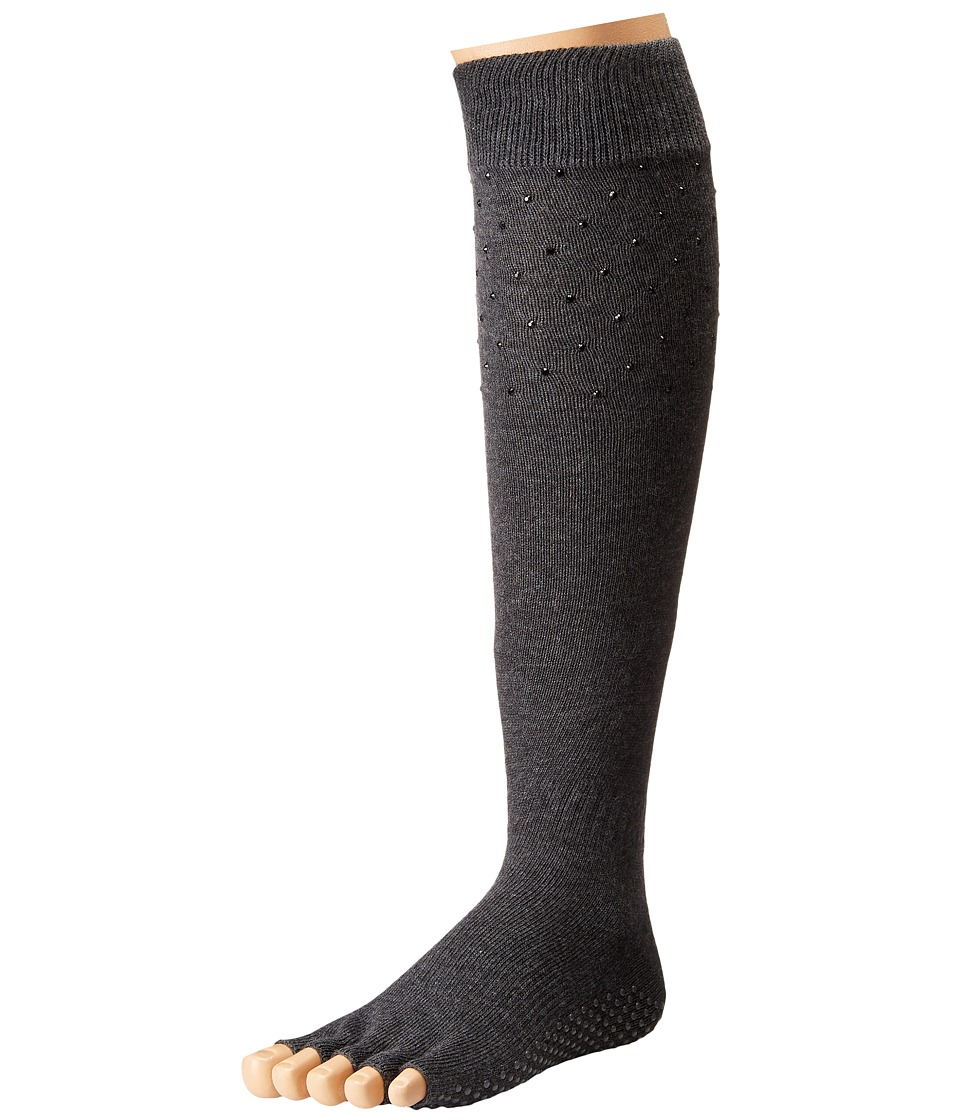 toesox - Grip Half Toe Scrunch (Sultry) Women's Knee High Socks Shoes