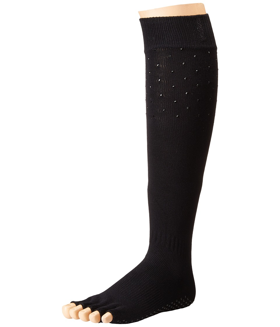 toesox - Grip Half Toe Scrunch (Nightlife) Women's Knee High Socks Shoes