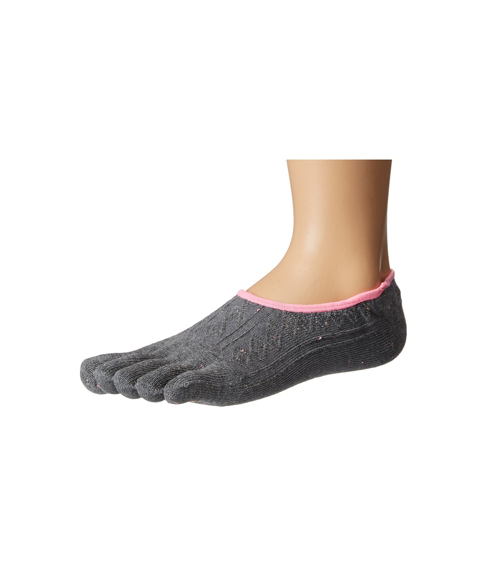 toesox - Dash Full Toe Non-Grip (Pepper) Women's No Show Socks Shoes