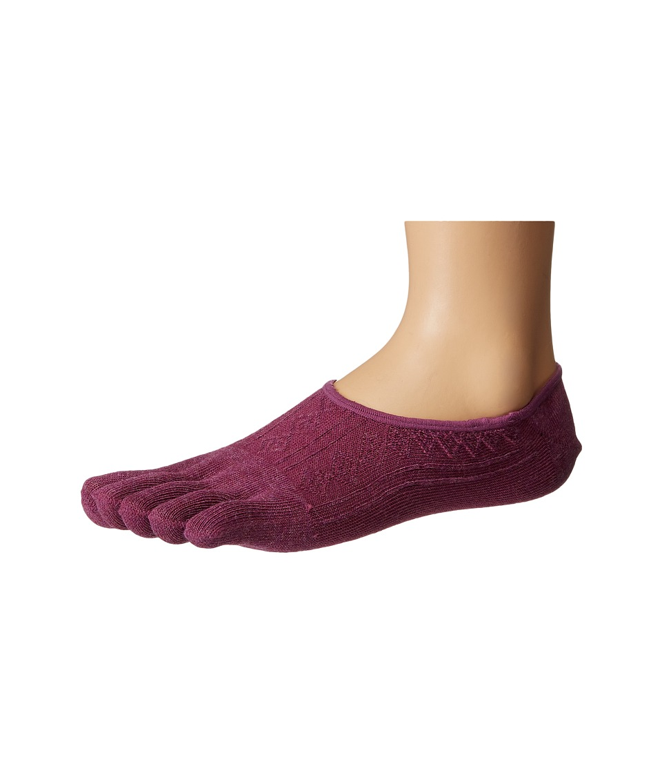 toesox - Dash Full Toe Non-Grip (Violet) Women's No Show Socks Shoes