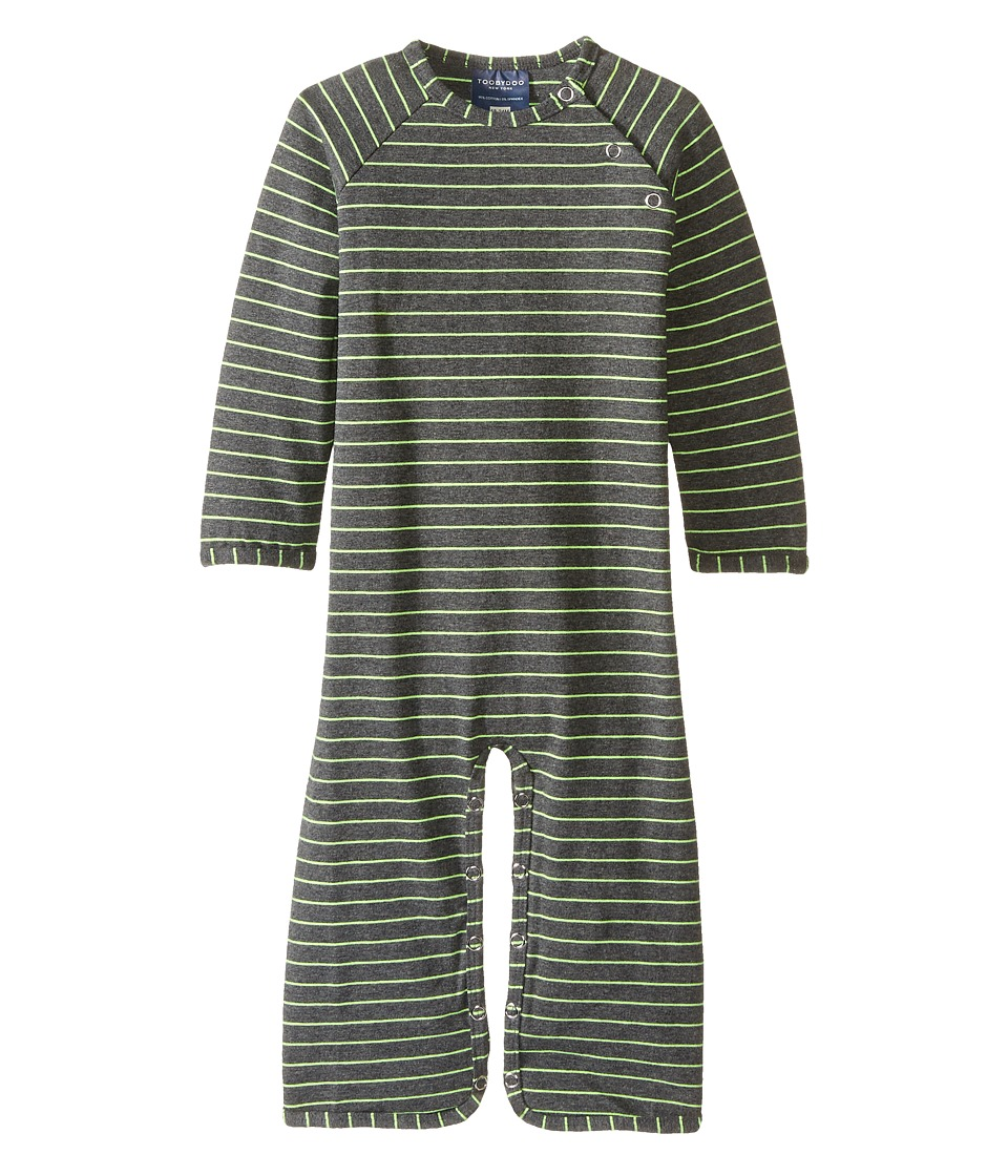 Toobydoo - Nathan Bootcut Jumpsuit (Infant) (Navy/Emerald Green) Boy's Jumpsuit & Rompers One Piece
