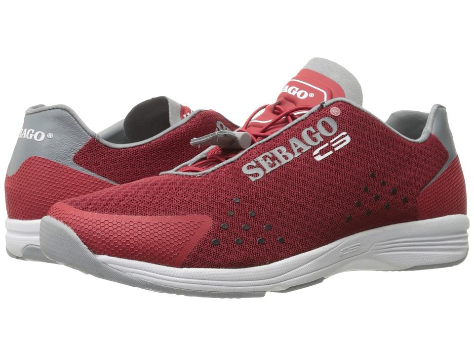 Sebago Cyphon Sea Sport (Red/Grey Textile) Men