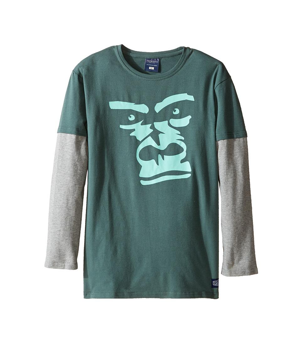 Toobydoo - Wild Bunch Gorilla Tee (Infant/Toddler/Little Kids/Big Kids) (Grey/Gorilla Graphic) Boy's Clothing