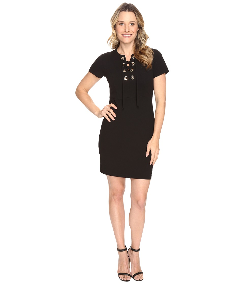 Vince Camuto Short Sleeve Dress