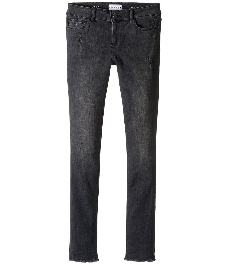 DL1961 Kids - Chloe Skinny Jeans in Heritage (Big Kids) (Heritage) Girl's Jeans