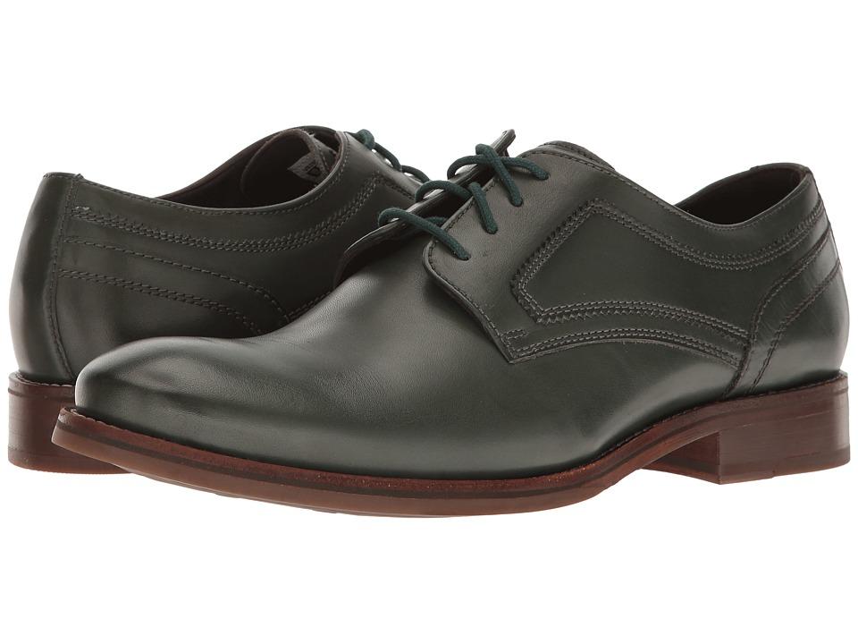 Rockport - Wyat Plain Toe (Darkest Spruce Leather) Men's Shoes