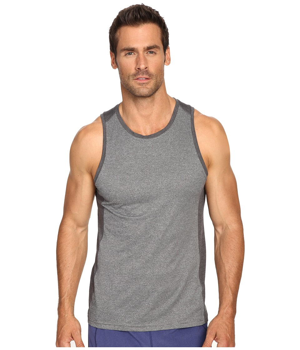 Manduka - Minimalist Tank Top 2.0 (Dark Grey Heather) Men's Sleeveless