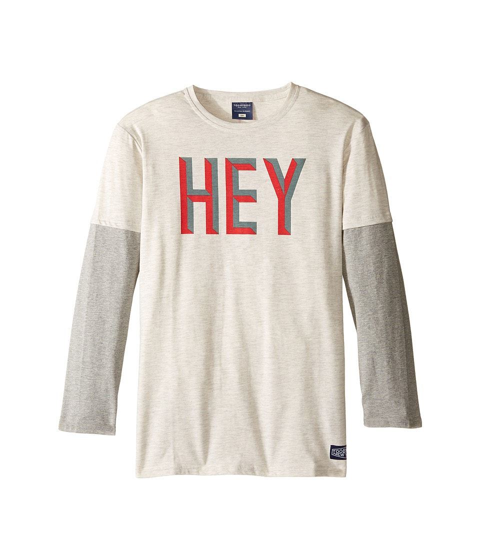 Toobydoo - Hey You Tee (Infant/Toddler/Little Kids/Big Kids) (Grey/Red/Navy) Boy's Clothing