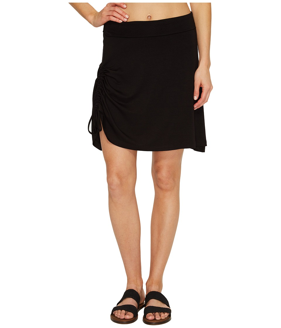 FIG Clothing - Dac Lt Skirt (Deep Black) Women's Skirt