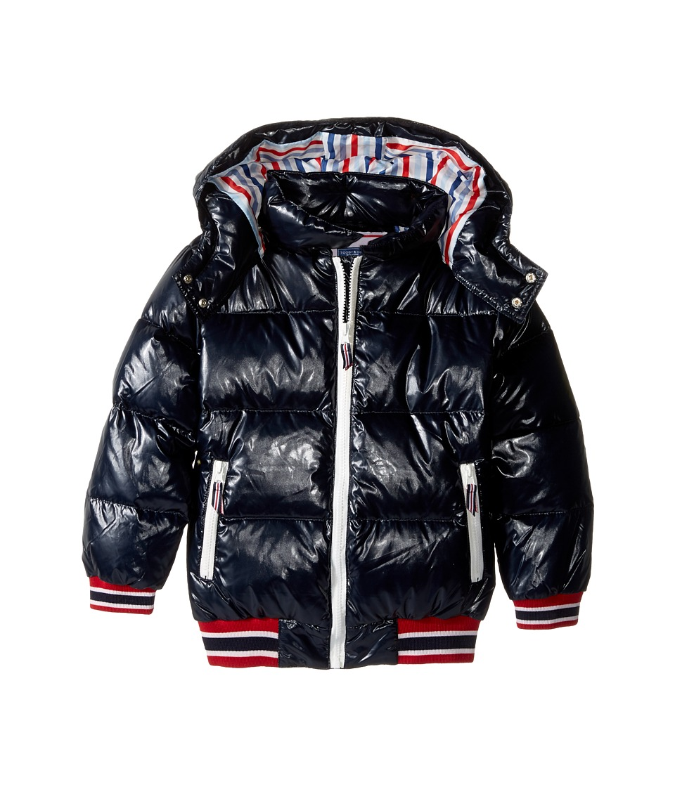 Toobydoo - Bubble Club Puffy Coat (Toddler/Little Kids/Big Kids) (Navy) Boy's Coat